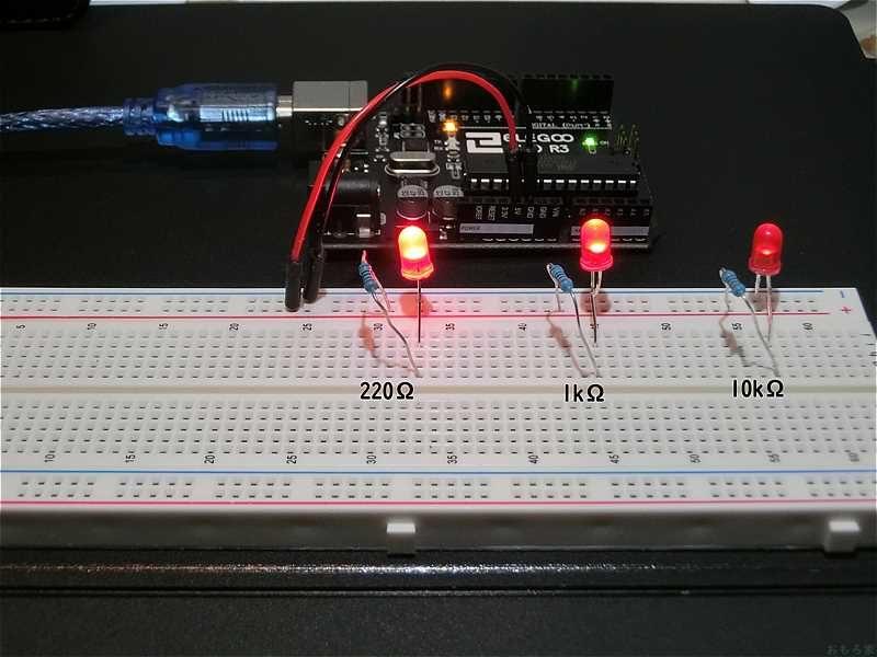 Arduino-breadboard