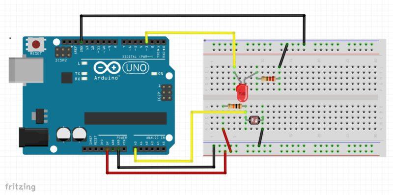 Arduino-lesson22-breadboard-2